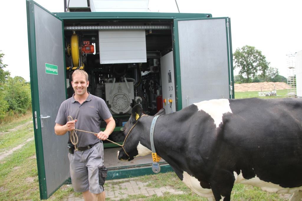 Biogas Bauernhof Ölanalyse